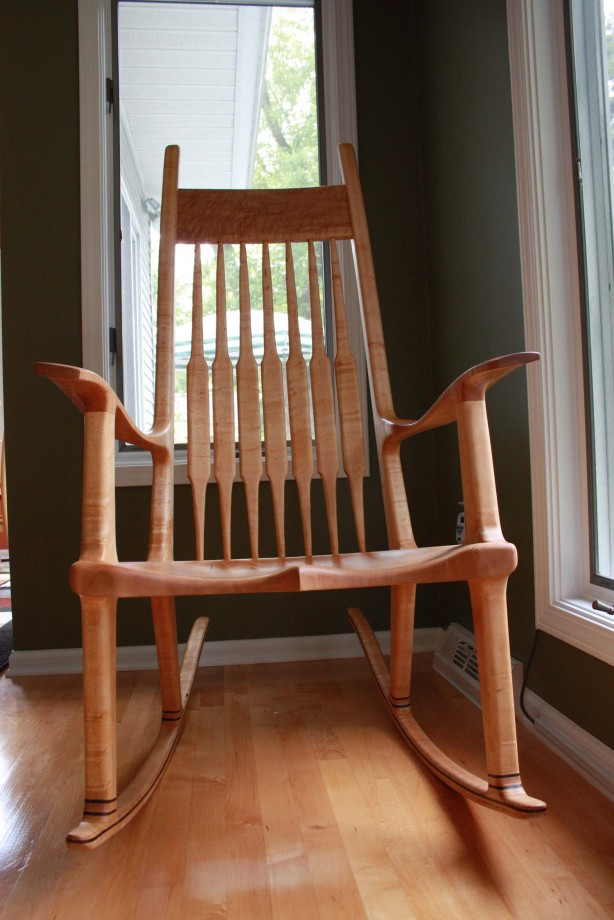Diy Maloof Inspired Rocking Chair Plans Pdf Download Plans